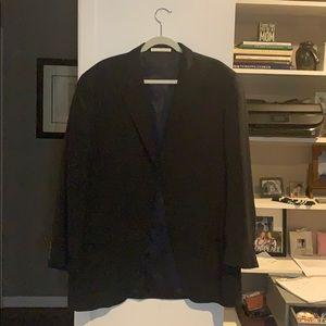 Men's blue 3 button blazer
